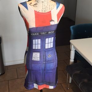 Dresses & Skirts - Doctor who Club UK mini dress S